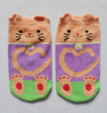 Children/Kid′s 3D 100% Cotton Socks (DL-CS-72)
