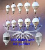 5W 7W 9W 12W 18W 36W E27 LED Bulbs Air Purifying Lamp with Anion