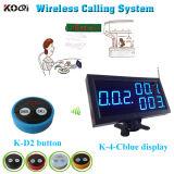 Restaurant Table Buzzer Button Long Distance Transmitter Wireless Calling System