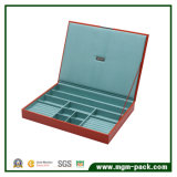 Large Stackable Leather Storage Box for Jewelry