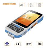 Rugged Waterproof Mobile Industrial GPS (IP65) Handheld Barcode Scanner PDA