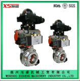 Explosion-Proof Actuator Pneumatic Sanitary Butterfly Valve