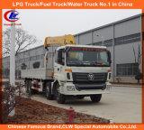 Heavy Duty 12 Wheel 251-350HP Foton Timber Loading XCMG Crane