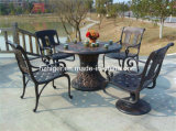 Customized Beautiful Metal Garden Tables and Chairs (HG508)