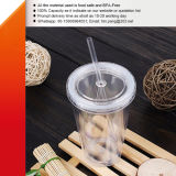 Doubles Walls Plastic Tumbler with Straw