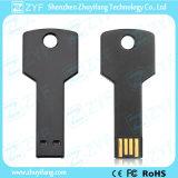 Most Popular Black Aluminum Key USB Flash Drive (ZYF153)