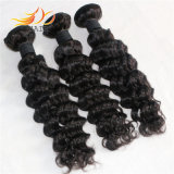 Wholesale 7A Deep Wave Malaysian Remy Human Virgin Hair Weaving