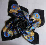 100% Pure Silk Square Scarves (OY-SF)