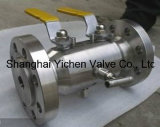 The Handle Operated API 6D Flanged Dbb Ball Valve