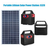 100W Portable Solar System Power Station with Lithium Battery