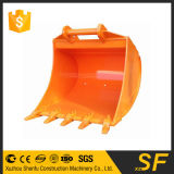 Construction Spare Parts of Excavator Standard Bucket to Fit for Ms10 Quick Hitch