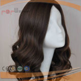 Top Qualtiy Human Virgin Remy Unprocessed Wavy Hair Silk Top Women Wig (PPG-c-0090)