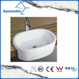 Ceramic Cabinet Art Basin and Vanity Top Hand Washing Sink (ACB8013)