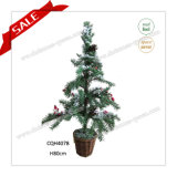 80cm Indoor Cheapest Artificial Real Needle Look Christmas Tree Decoration