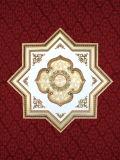 Star Shape Elegant Polystyrene Artistic Ceiling (BRRJ18-F076)