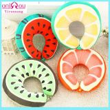 Creative Fruits U-Shape Pillows with Cotton Filling