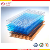 with UV Protection Polycarbonate PC Sun Sheet/Hollow Polycarbonate Panel