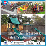 Outdoor Recycled Rubber Tile Paver, Kids Rubber Tile