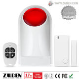 Wireless Security Burglar Alarm with Flashing Siren