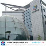 3mm-19mm Bent/Curved Tempered/Toughened Glass for Building Glass