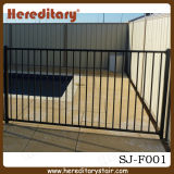 Powder Coated Aluminum Flat Pool Fencing for Garden (SJ-F001)