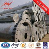 14m 16kn Steel Round Pole Price Supplier for Africa