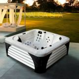 New CE Approved 110V Freestanding Square Outdoor Jacuzzi