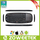 Zw-51010 Hot-Sale Ultra Slim Wirless Russion Keyboard with Laser