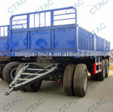 China Manufacturer Best Selling Turntable Full Trailer for Sale