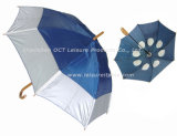 Strong Double Layer Straight Umbrella with UV Protection (OCT-GH015)