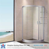Flat Toughened/Tempered Glass for Shower Doors