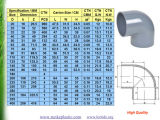 UPVC Pipe Fitting for Water Supply DIN Standard