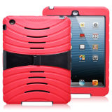 Nice Looking Combo PC+Silicone Tablet Case with Stand for iPad Mini
