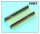 Pin Header 2.54mm Double Double Plastic SMT