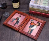 8 Inch Solid Wood Family Photo Album