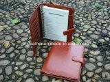 Leather Ring Binder Document Holder Agenda Notebook