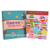 Wholesale Custom Printing Lesson Plan & Record Book / Child Lesson Planner Notebooks with Index Dividers