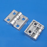 Zn-Alloy Industrial Hinge with Hole 6.5mm for Aluminum Profile