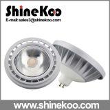 Die-Casting Alunimium 15W Gx53 GU10 COB LED AR111 Light