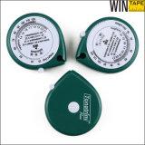 1.5 Meters Green Personalized Logo Mini Body BMI Measuring Tape