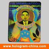 Anti-Fake Hologram Effect Sticker Label