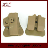 Imi Style Glock G17 19 Pistol Holster with Magazine Paddle Holster