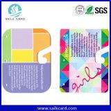 Abnormal Custom Diecut Plastic PVC Gift Card