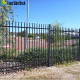Powder Coated Residential Ornamental Cast Iron Fence