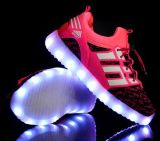 OEM Latest Student Flash Light Shoes Children LED Shoes (FF824-3)