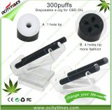 Ocitytimes 300puffs Disposable E-Cigarette for Cbd Oil