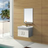 Stainless Steel Bathroom Cabinet with Shelf (T-9468B)