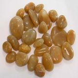 Yellow Stone River Pebbles Garden Decoration