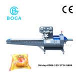 Automatic Film Three Servo Motors Bread Food Flow Packing Machine