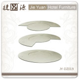 Wholesale Price Banquet Plywood White Restaurant Table (JY-DZ019)